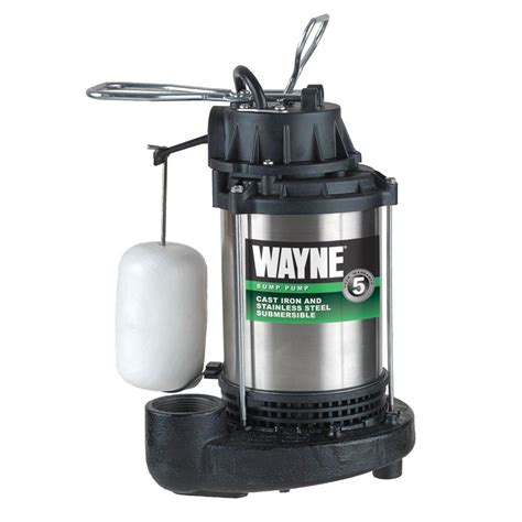 Wayne Plumbing by Wayne 1 Hp Sump Cdu1000 The Home Depot