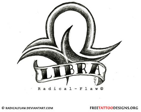 libra sign tattoo designs libra unique libra symbol tattoos