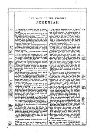The Book of the Prophet Jeremiah (KJV) - Online Library of