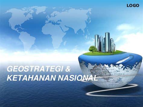 geostrategi ketahanan nasional indonesia