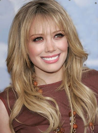 hilary duff long hairstyle long wavy hairstyles for oval faces beauty riot