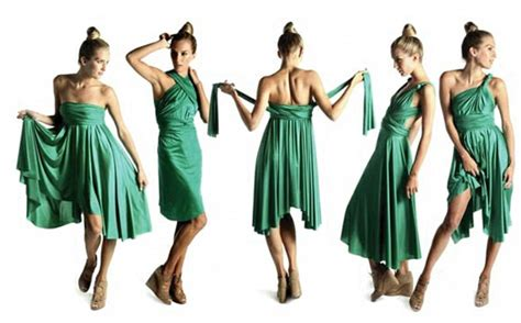 one hairstyle woren different ways could versatile butter by nadia dress be the answer to any
