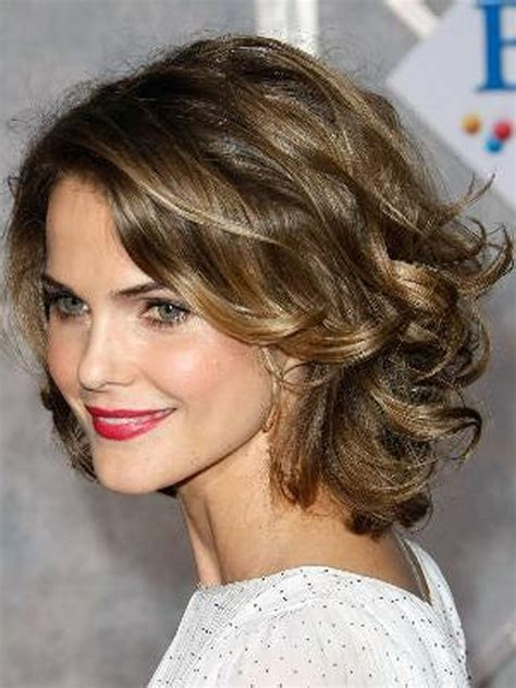 best haircuts curly hair round face best short curly hairstyles for round faces easy women