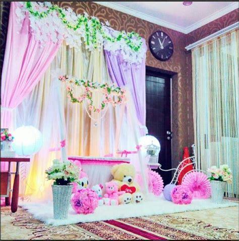 Baju Bayi Untuk Aqiqah dekor aqiqah cantik untuk acara syukuran kelahiran bayi anda ibuhamil