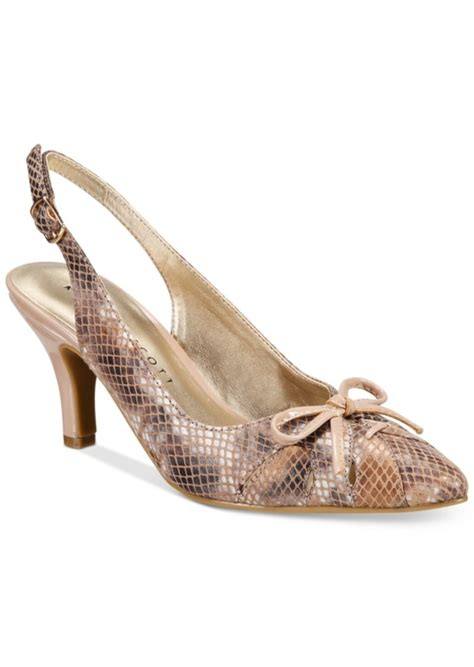 macy shoes glenna slingback pumps only at
