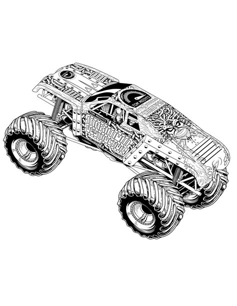 Max D Coloring Pages by Truck Coloring Pages Coloringsuite