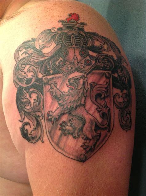 irish themed tattoo designs new family crest tattoes