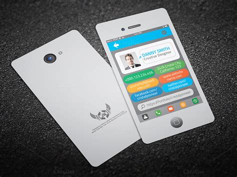 iphone business card template free iphone style business card business card templates on