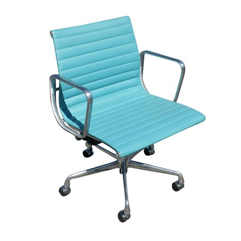 Teal Office Chair by 1 Herman Miller Aluminum Management Chair Teal