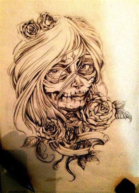 la tattoo design 36 catrina tattoos designs