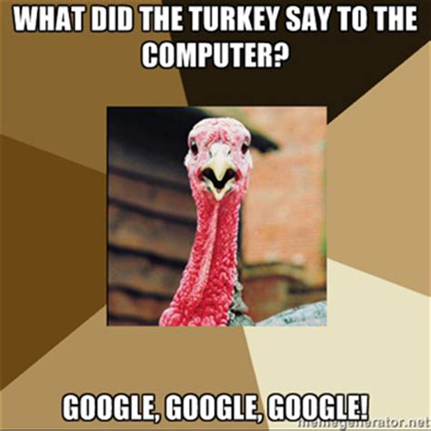 Thanksgiving Turkey Meme - happy thanksgiving from our raleigh web design team