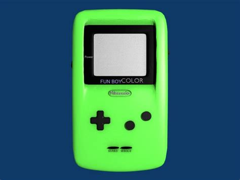 green gameboy color 3ds gameboy green