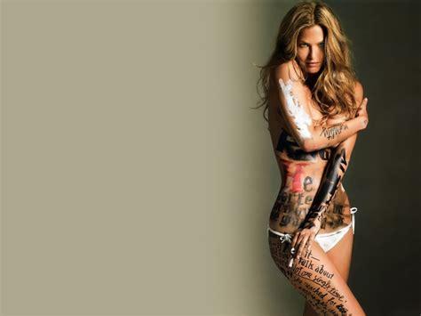 tattoo hot wallpaper bar refaeli hotfemale