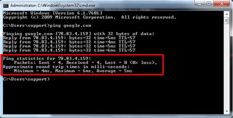 read ping test results  started tutorial fastcomet