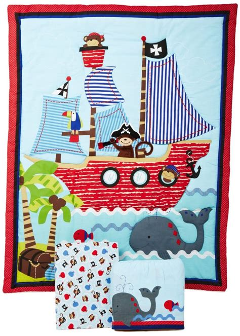 Pirate Bed Sets Pirate Baby Bedding Sets Treasure Island And Islands