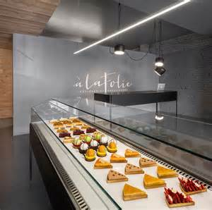 Interior Polished Concrete Floors Design Of A Pastry Shop Storefront Beautiful Interiors