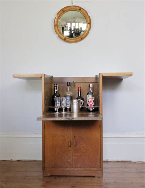 heals 1920 s drinks cabinet in oak antiques atlas
