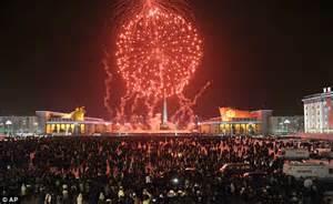 new year celebration korea jong un makes tv address by a korean