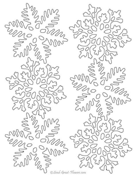 snowflakes printables pinterest snowflake patterns to print download winter coloring