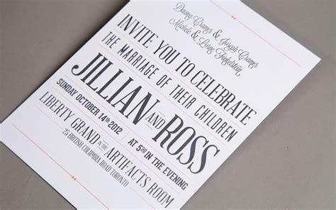 invitation design typography wonderful typography wedding invitations theruntime com