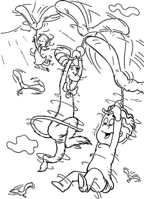 Free Coloring Pages Of Dr Suess Fish Dr Seuss Colouring Pages