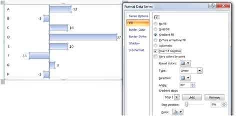 excel 2007 format data series gradient fill istudio information insight world premiere of the red