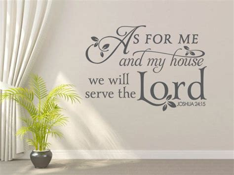 as for me and my house wall art religious wall decal as for me and my house code 087 wall decal vinyl designs