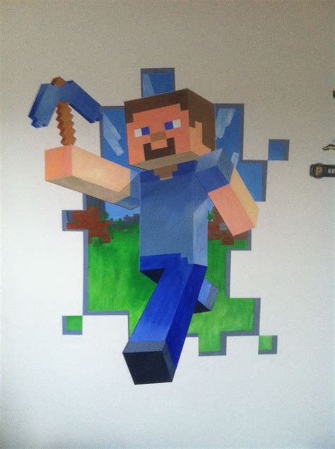 Minecraft Wall Mural image gallery minecraft mural