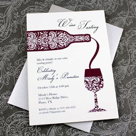 wine tasting cards templates wine tasting invitation template
