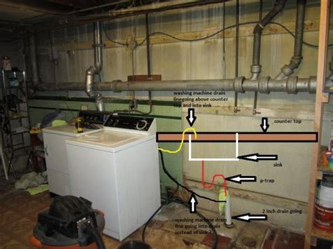 Correct way to pipe this for washing machine / laundry