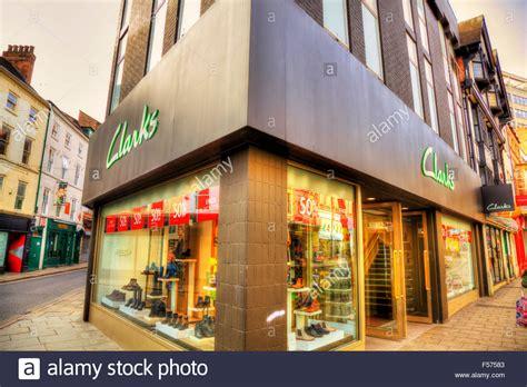 shoe shops in oxford city centre clarks shoe shoes shop store name sign building exterior