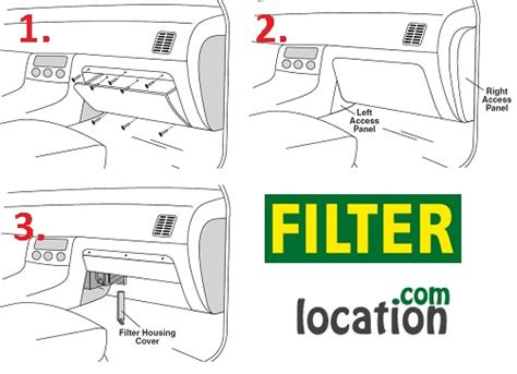 Where Is The Cabin Filter Located by Nissan Altima Cabin Air Filter Location