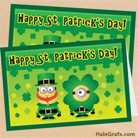 st s day minion pics free printable despicable me st s day minion card
