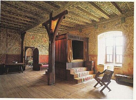 medieval bedroom design inside burg eltz castle germany castles pinterest