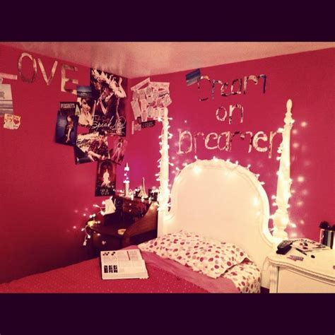 remodel your bedroom with artsy bedroom ideas your dream bedroom lights christmas lights pink tumblr image