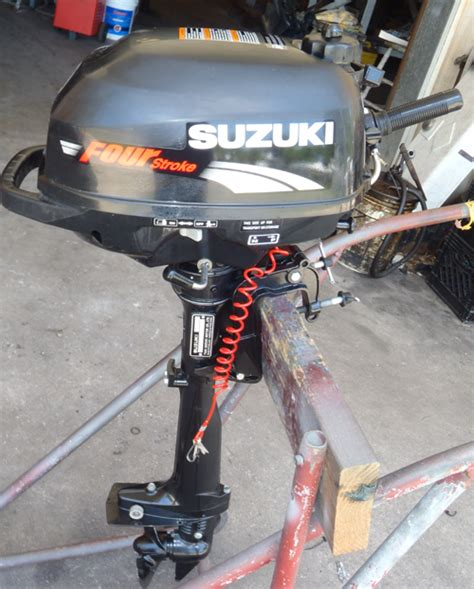 Suzuki 2 5 Hp Suzuki 2 5 Hp 4 Stroke Outboard Motor For Sale