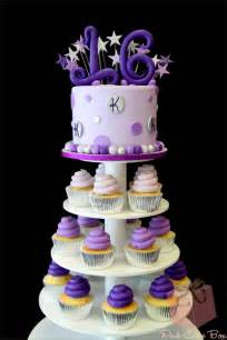 Twin sweet 16 cupcake towers 2277