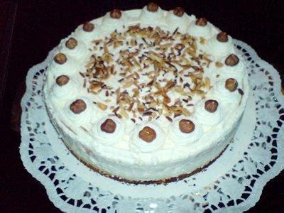möhren nuss kuchen kuchen sahne nu 223 torte rezept mit bild kochbar de