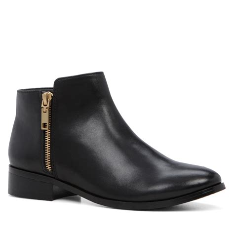 flat ankle boots for ankle high flat heel boot house of fraser