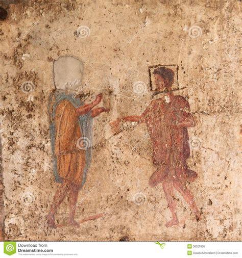 Roman fresco pompeii stock photo image 36209300