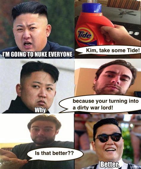 Kim Jong Un Snickers Meme - post 34 compulsion nuke em gangnam style chauncemaster