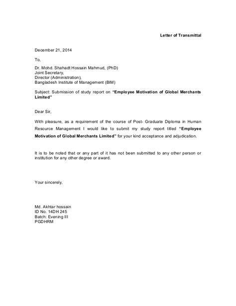Confirmation Letter With Salary Increase Term Paper Employee Motivation Of Global Merchants Limited