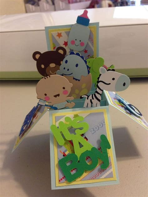 Cricut Pop Up Card Templates by 34 Best Images About Card In A Box On Baby