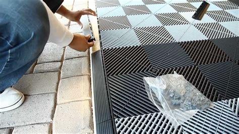 Install Vented Xl Modular Garage Tiles Youtube