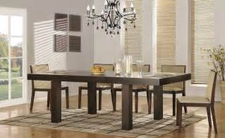 designer dining room tables contemporary extendable 5 pc dinner set augusta richmond