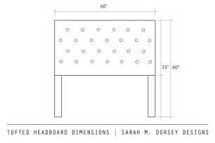m dorsey designs tufted headboard with nailhead