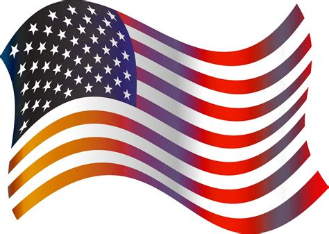 american flag clipart american flag clip free stock photo domain