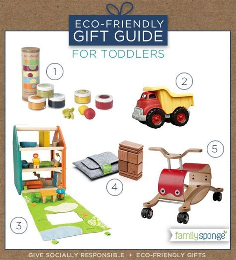 eco friendly gift guide toddlers christmas pinterest