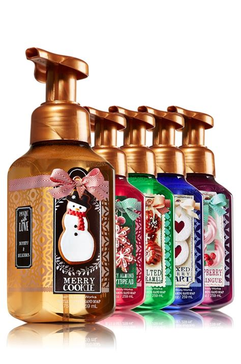 delicious bath body works made with love hand soaps for