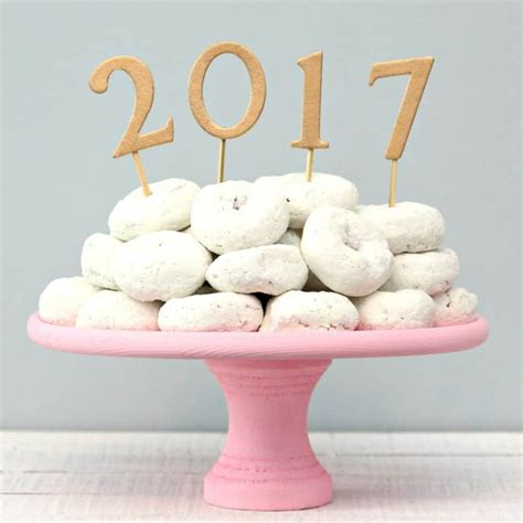 new year cake easy cake topper